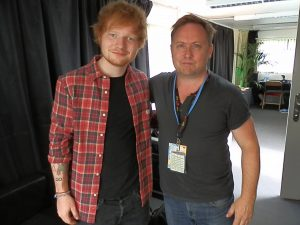 James Paints Ed Sheeran
